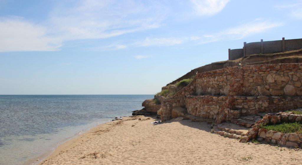 пляжи окуневки